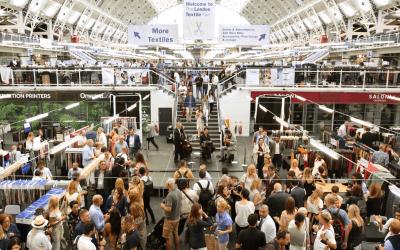London Textile Fair: alla più grande fiera tessile di Londra, Cozzolino c'era.